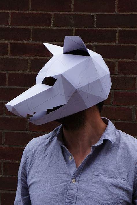 wolf mask template  wintercroft keeper  blog