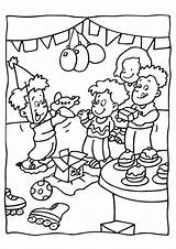 Birthday Party Coloring Tag Archives sketch template