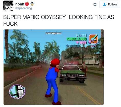 Mario Odyssey Memes - mario grand theft auto mod super mario odyssey know your meme