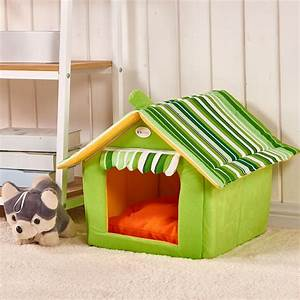 House shaped dog bed with removable roof dog parent store for House shaped dog beds