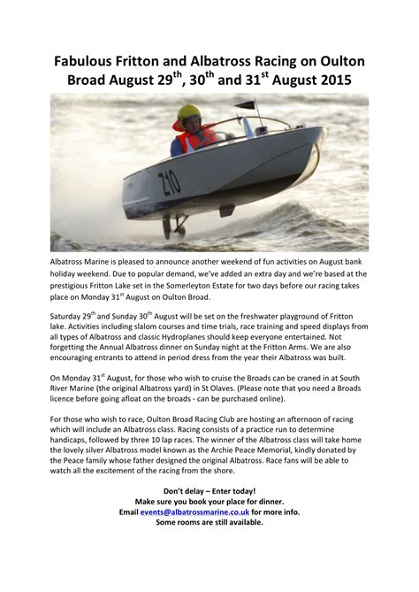 Motor Boats For Sale Lake Windermere by Racing
