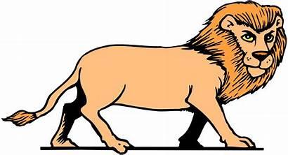 Lion Cartoon Clipart Angry Cartoons Clip Cliparts