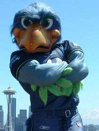 seahawks national football league mascots