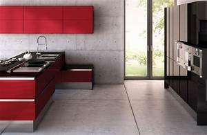 Küche In Rot : st rmer k chen ~ Frokenaadalensverden.com Haus und Dekorationen