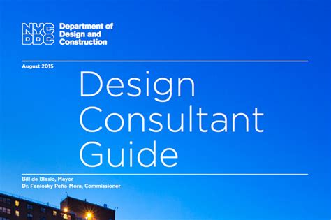 Design Guide by Publications Department Of Design And Construction