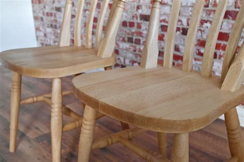 farmhouse slat back dining chairs with beech antique finish