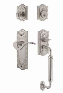 Meadows Plate  Manor Lever With C Grip