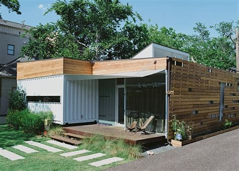 Green Container House In Houston