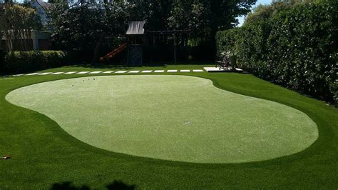 Backyard Artificial Putting Green by Salt Lake City Synthetic Grass And Golf Greens