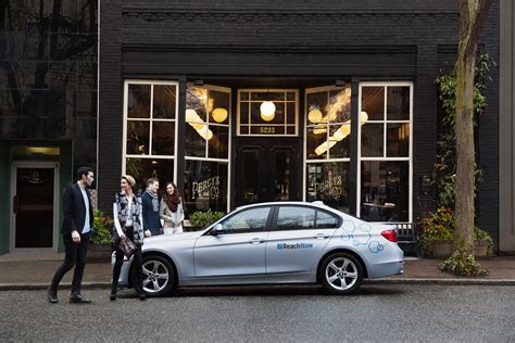 """Bmw Launches Car Sharing Service """"reachnow"""" In Seattle  Carrrs Auto Portal"""