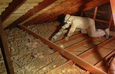remove  attic insulation   spray foam