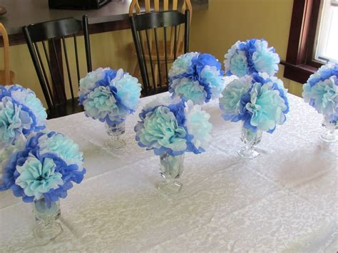 Decorating Ideas For Baby Shower Boy by Simple Baby Shower Centerpiece Ideas Some Serious