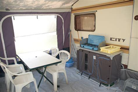 chambre auvent caravane caravane 4 personnes cing les airelles