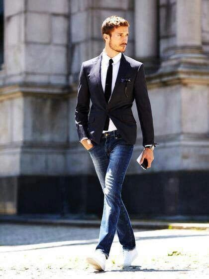 men style love  suit jacket tie  jeans perfect   engagement session mens