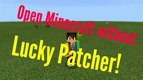how to open minecraft without lucky patcher able to login on xbox live 100 works