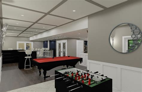 Luxury Basement Designs in Somerset County, NJ   Design