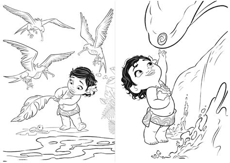 Passatempo da Ana: Livro para Colorir: Moana