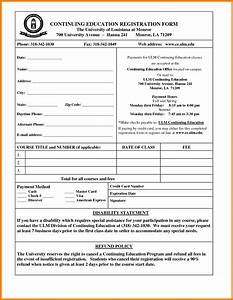 7 students registration form simple format new tech With basic registration form template