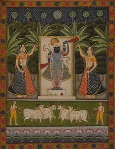 Sreenathji Pichwai Art 1 by artist Artisan other Paintings