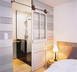 les 25 meilleures idees de la categorie rail pour porte With porte d entrée alu avec meuble salle de bain retro chic