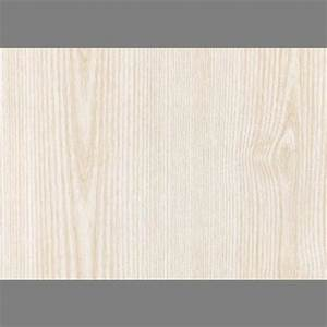 Ash White Self-Adhesive Wood Grain Contact Wallpaper by