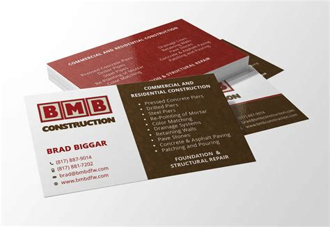 business card design website design flower mound logo