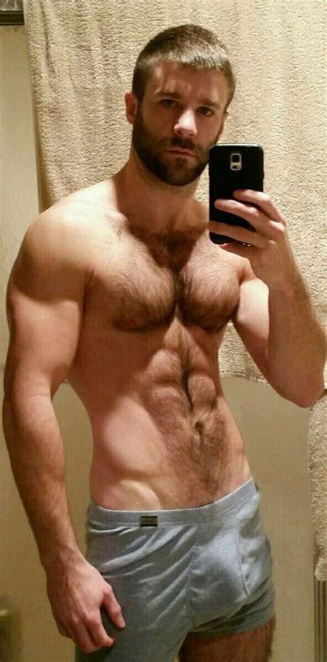 Davidmuhn Sexy Hairy Chest Guy In His Underwear Showing