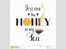 Honey In My Tea Stock Photography CartoonDealercom