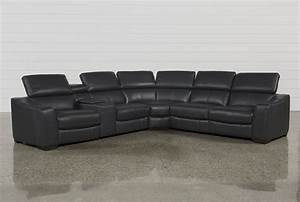 6 piece leather sectional sofa marx nutmeg 6 piece With fabrizio leather 6 piece sectional sofa