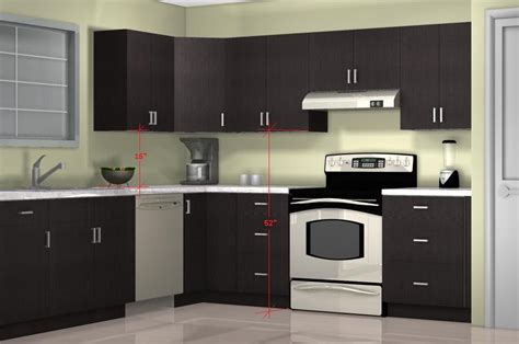clearance kitchen cabinets or units what is the optimal kitchen wall cabinet height