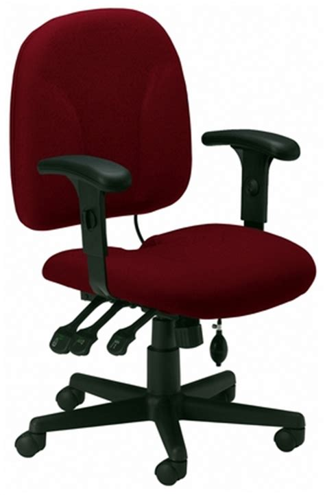 mayline 4021 multi function ergonomic task chair with