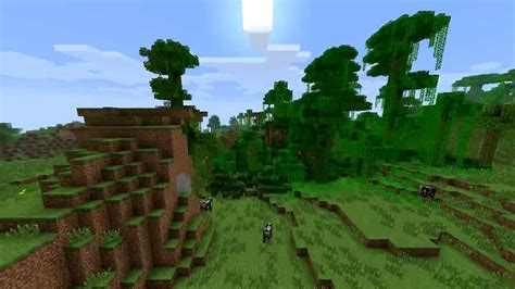 Minecraft Landscape Biomes Youtube