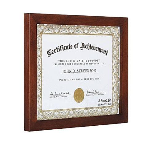 document framecertificate frames  solid wood