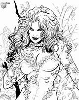Ivy Poison Coloring Pages Colouring Chibi Posion Bust Sketch Cadre Inked Deviantart Stats Downloads Favourites Draw Template sketch template
