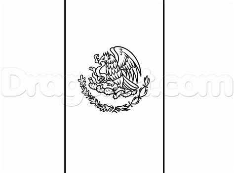 Step 11. How To Draw The Flag Of Mexico