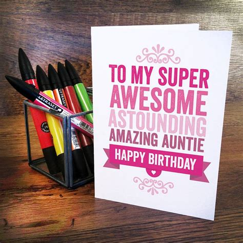 homemade birthday cards  aunt google search happy