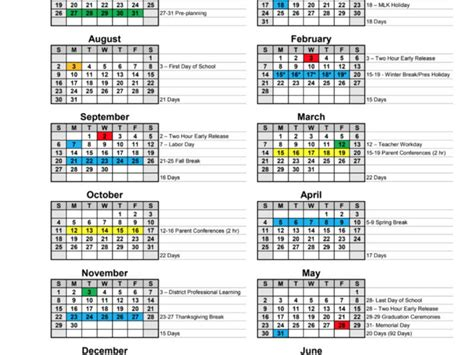 paulding approves calendars school years