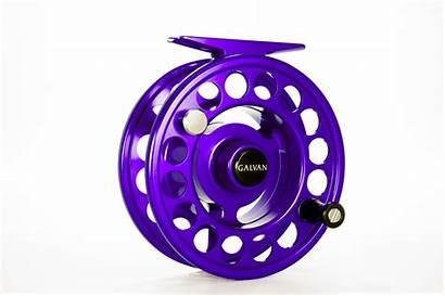 Galvan Rush Fly Reel Purple Reels Stillwater