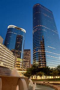 Chevron Tower At Dusk Houston Texas Dave Wilson