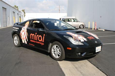 customize  car   anime wrap orange county ca