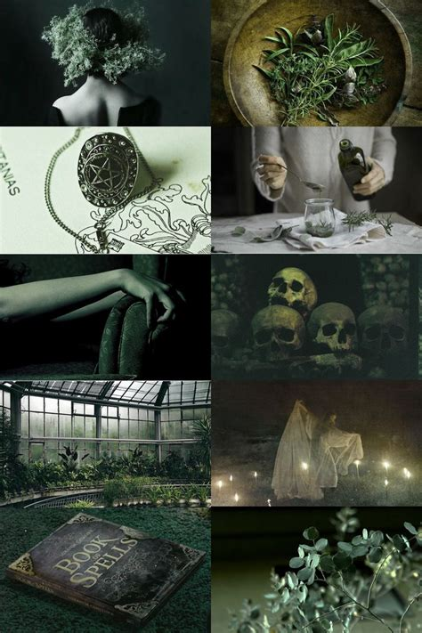 skcgsra green witch aesthetic slytherin aesthetic