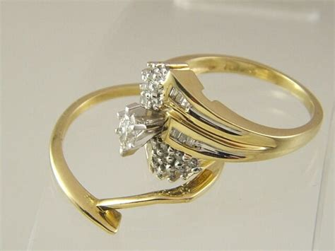 Wedding Ring Sets With Marquise Diamond