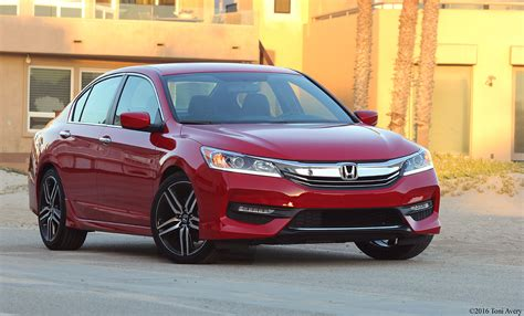 Honda Accord 2016 Review by Girlsdrivefasttoo 2016 Honda Accord 4 Door Sport Review