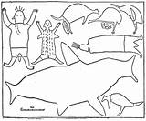 Rock Aboriginal Activities Pages Colouring Painting Fun Stencils Children Printable Coloring Ages Drawing River Crafts Toddlers sketch template