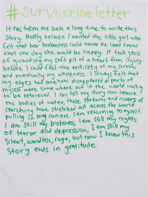 read  beautiful love letters sexual assault survivors