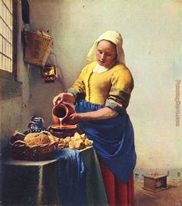 Vermeer, Milkmaid | art i love | Pinterest