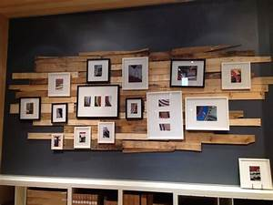 Reclaimed wood wall decor decorating
