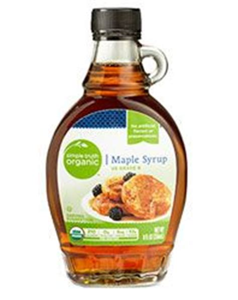 Kroger Bloomfield Maple maple syrup simple never buying the regular store