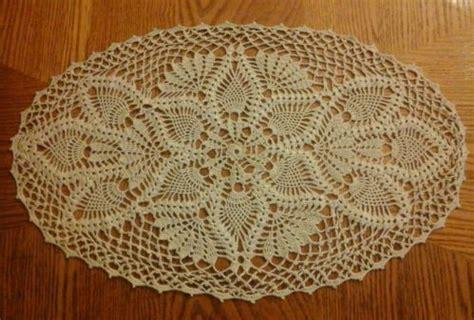 Crochet Oval Table Runner Pattern Principlesofafreesociety
