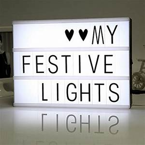 diy free cinematic light box with letters and led light a4 With led light box with letters